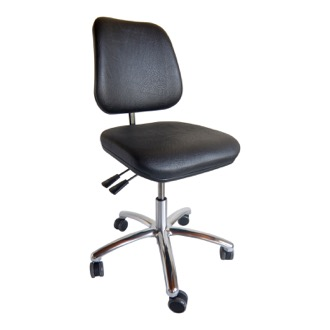 Ergonomisk kontorstol Office high back, kunstlæder. 2024
