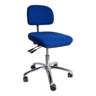Ergonomisk kontorstol Office low back, polstret stof. 2025